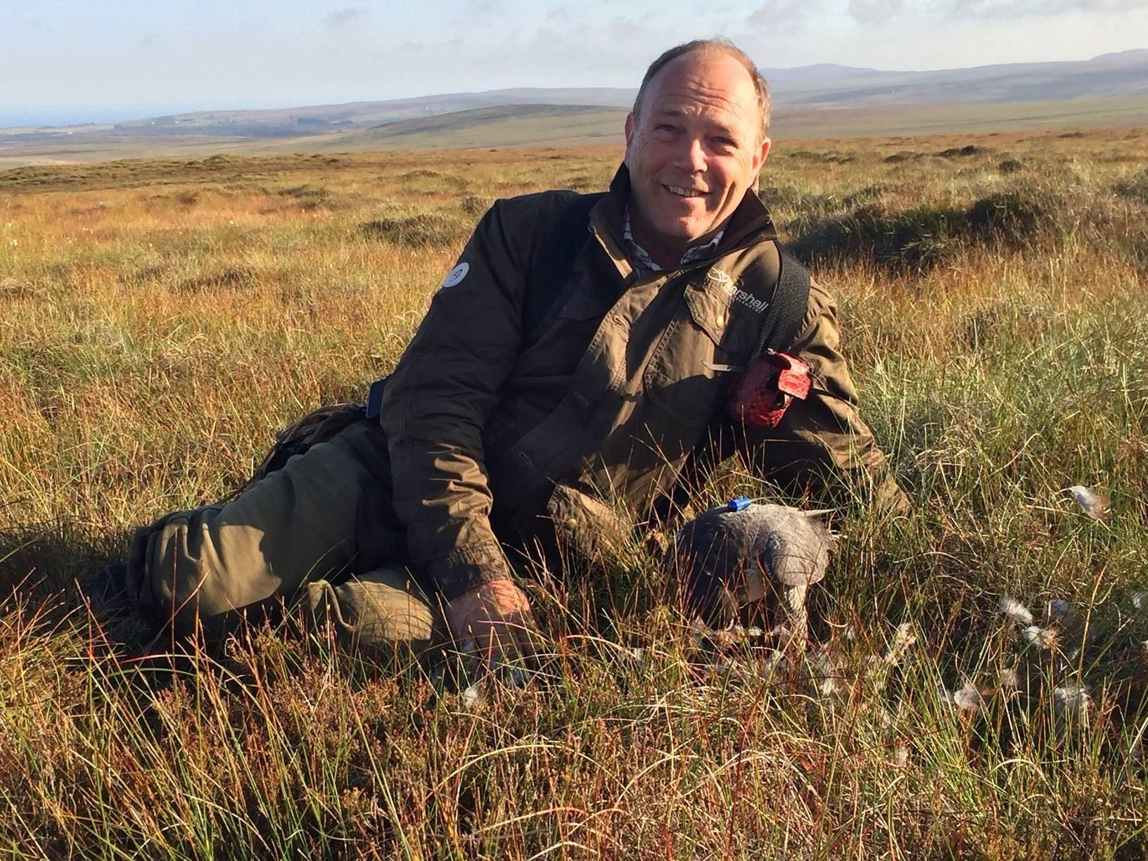 Tony James, ,UK hunting in Scotland